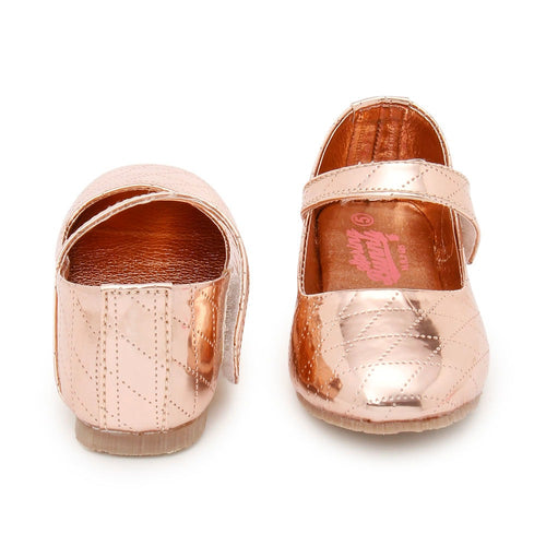 Toddler Girl 'Diamante Copper' Mary Jane Shoes