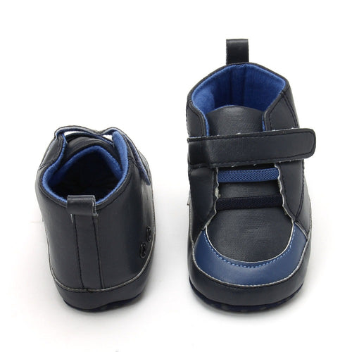 Baby Boy 'Britt' Navy Shoes