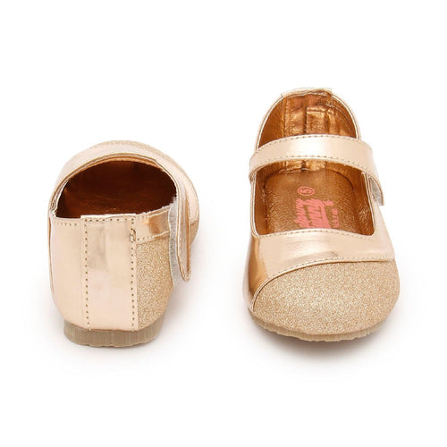 Toddler Girl 'Donna' Gold Mary Jane Shoes