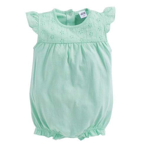 Baby Girl 'Eva' Green Onesie