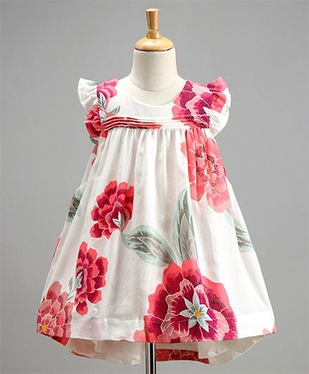 Baby Girl 'Full Bloom' Dress