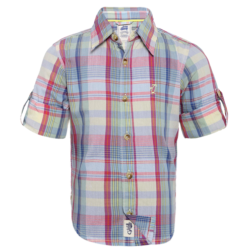 Toddler Boy 'Bradley'  Roll Up Shirt
