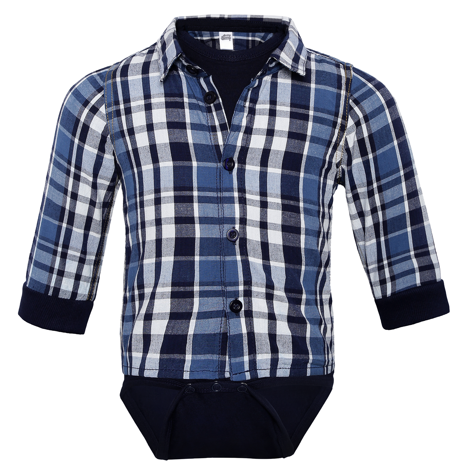 Baby Boy 'Denver' Romper with Shirt