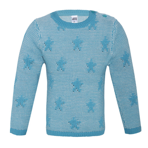 Toddler Girl 'Fall for the Stars' Sweater