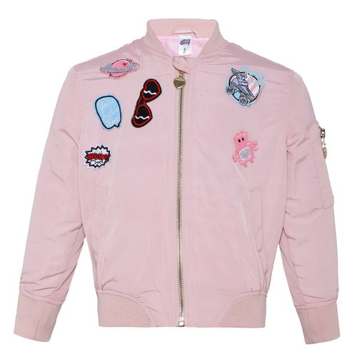 Toddler Girl 'Warm Pink' Jacket