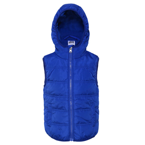 Toddler Boy 'Keep Warm' Vest Jacket
