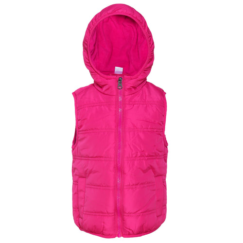 Toddler Girl 'Keep Warm' Vest Jacket
