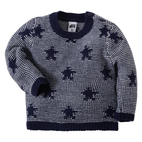 Baby Boy 'Fall For The Stars' Navy Sweater