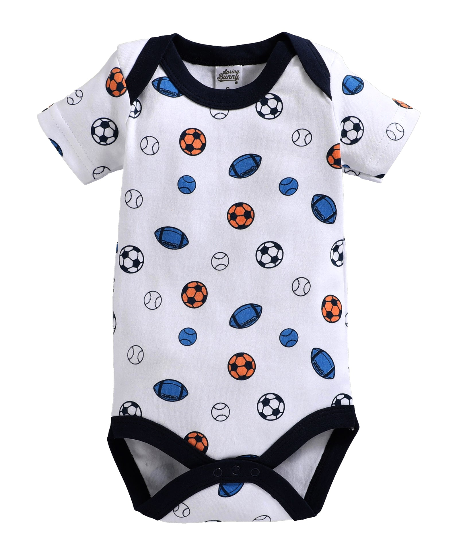 Baby Boy ' Aboy ' Blue color Onesis Set of 3