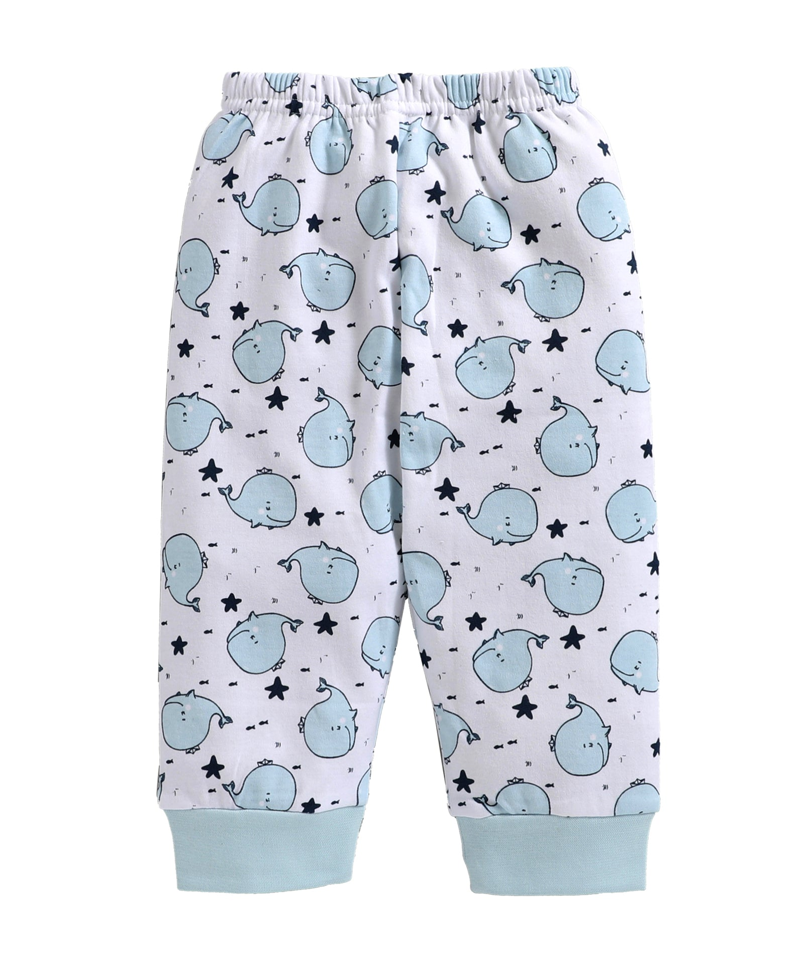 Toddler Boy ' Whale ' Blue Pyjama Set