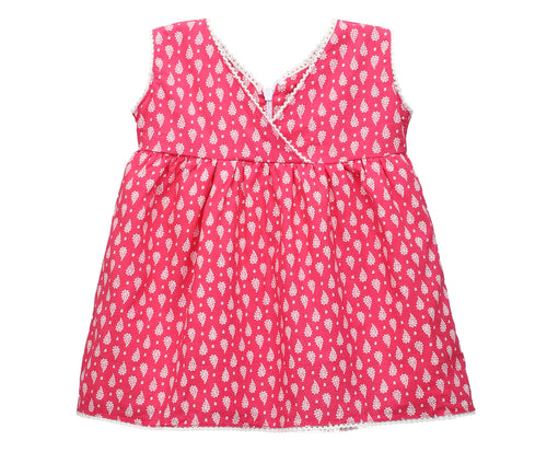 Baby Girl ' MyDress ' Pink Printed Dress