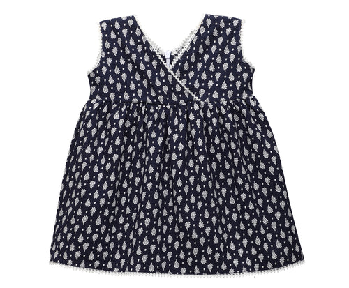 Baby Girl ' MyDress ' Blue Printed Dress