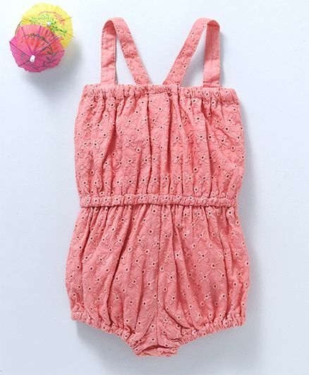 Baby Girl 'Jumpster' Rose Pink Romper