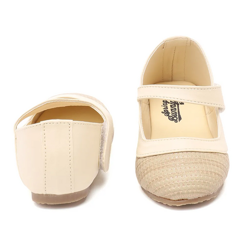Toddler Girl 'LizBg' Beige Mary Jane Shoes