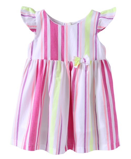 Baby Girl 'Mia' Pink Dress