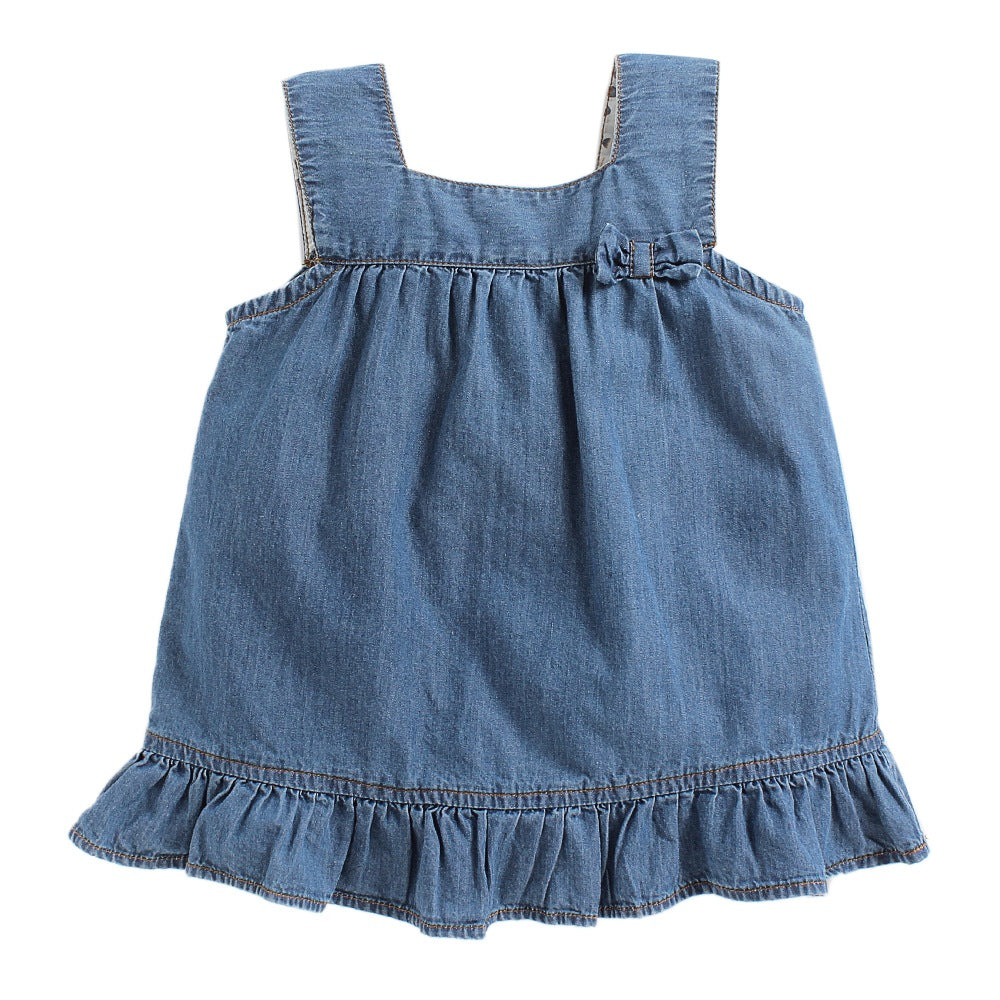 Baby Girl 'Mitchell' Denim Dress