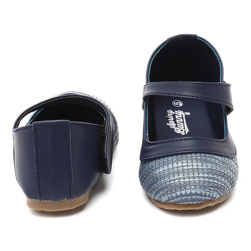 Toddler Girl 'Natalie' Blue Mary Jane Shoes