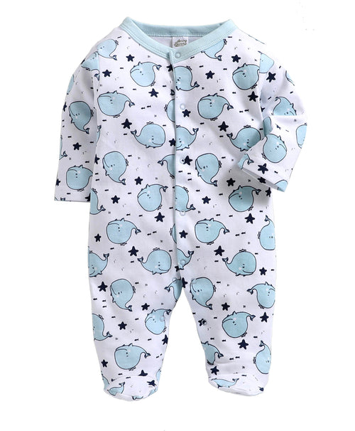 Baby  ' Ocean ' Blue Snuggy
