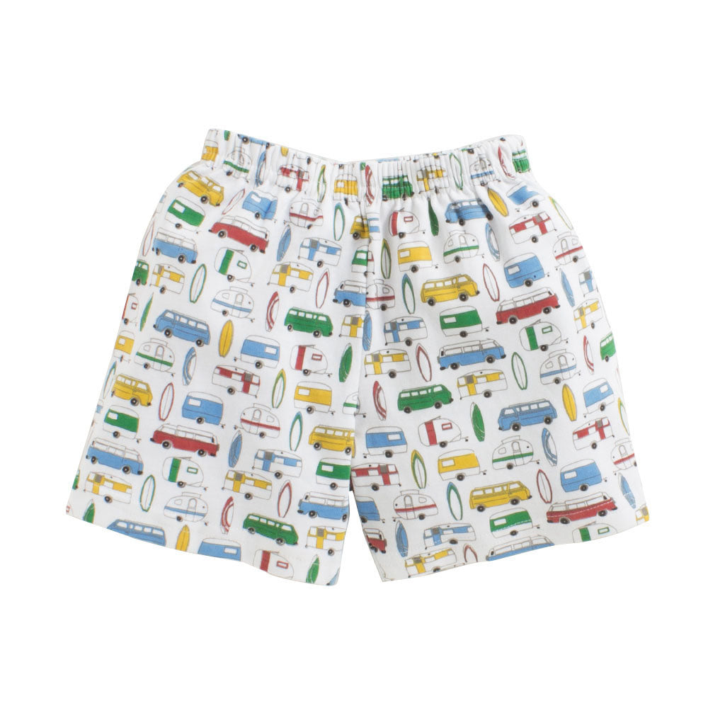 Toddler Boy 'Surf's Up' Cotton Shorts and T-shirt Set