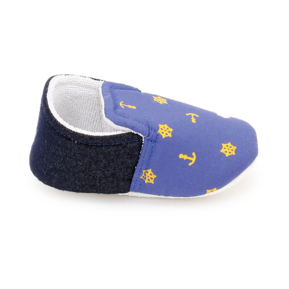 Baby Boy 'Nautical Blue' Shoes