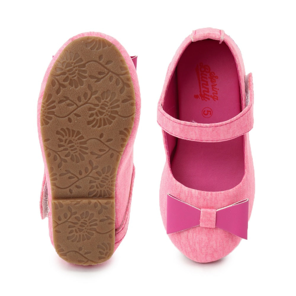 Toddler Girl ' PinkBow' Mary Jane Shoes