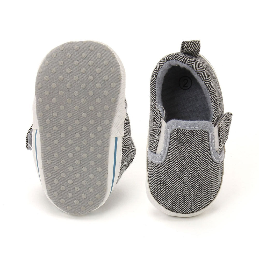 Baby Boys 'Abby' Gray Shoes