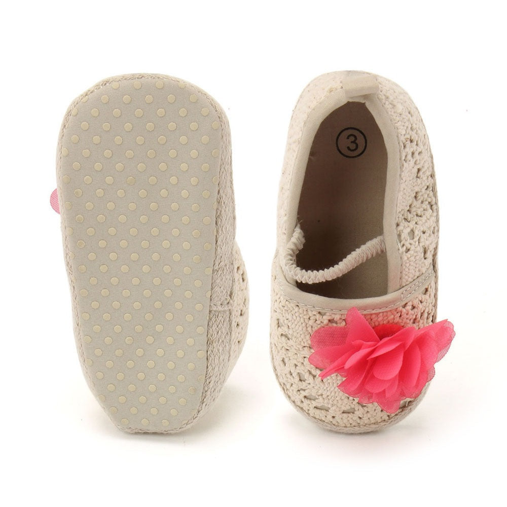Baby Girl 'Marie' Crochet Shoes