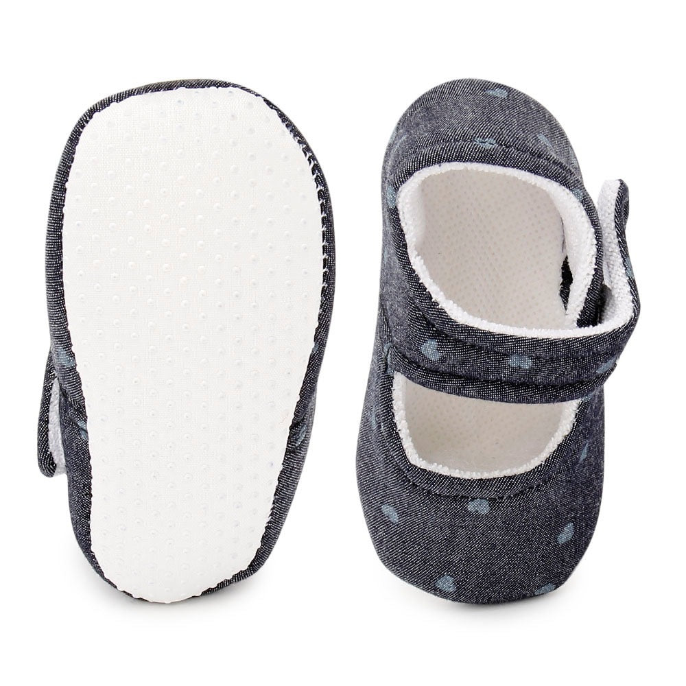 Baby Girl 'Polka Blue' Shoes
