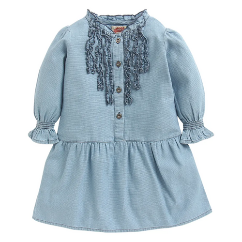Toddler Girl 'Sofia' Denim Dress