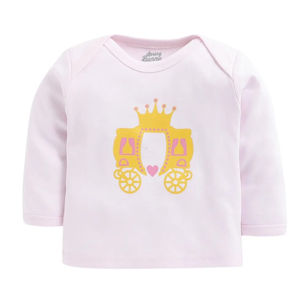 Baby Girl 'Crown' Pyjama Set