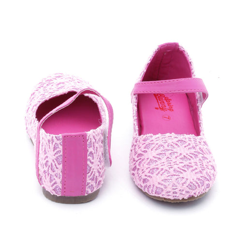Toddler Girls Pink 'Glam' Mary Jane Shoes