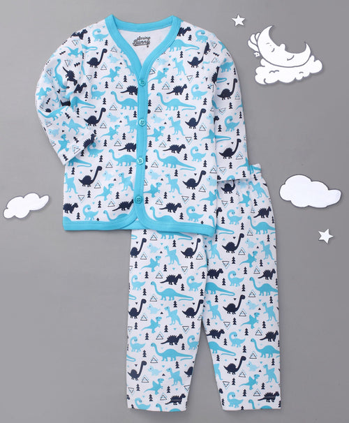 Toddler Boy 'Dino' Cotton Pyjama Set