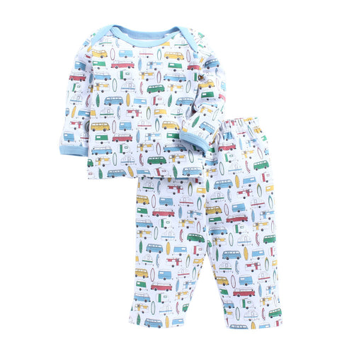 Baby Boy 'Surfs Up' Pyjama Set
