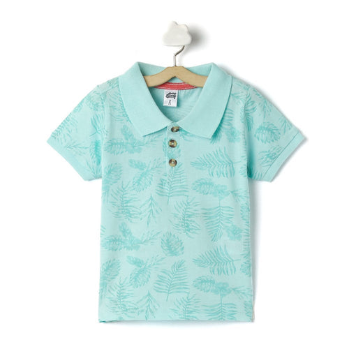 Toddler Boy 'Tahiti' Polo T-shirt