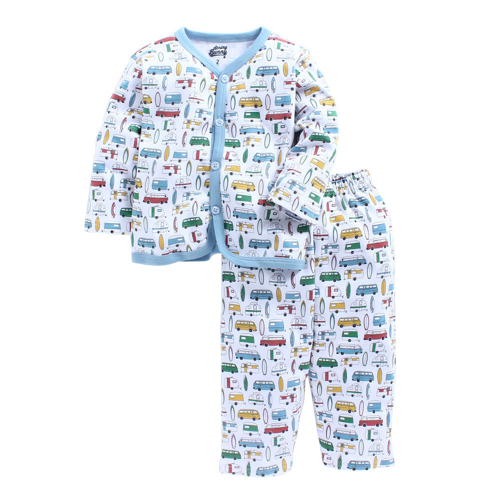 Toddler Boy 'Surfs up' Cotton Pyjama Set