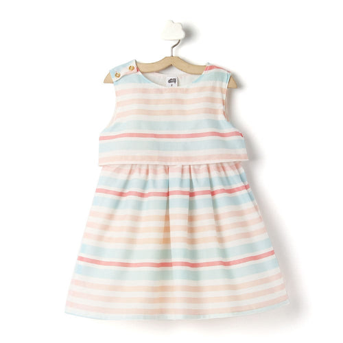 Toddler Girl 'Candy' Printed Cotton Dress