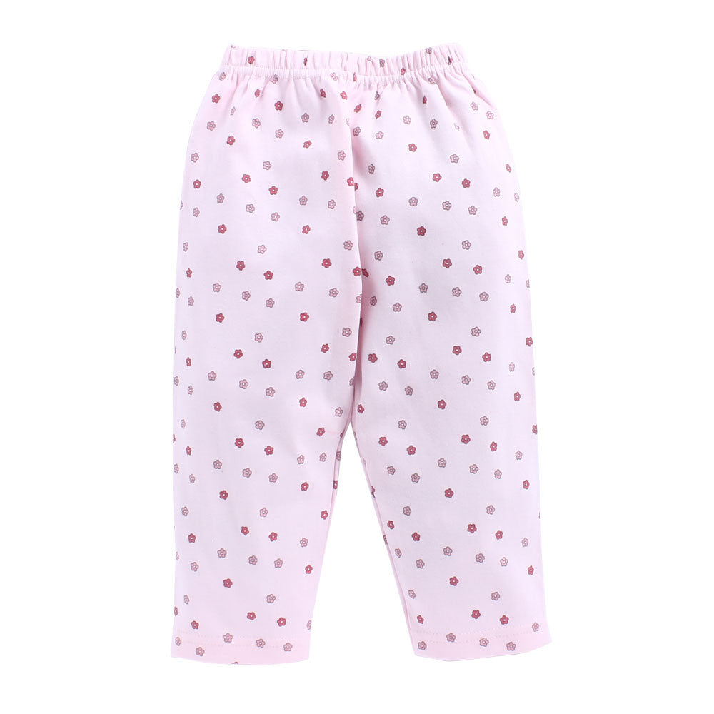 Toddler Girl 'Blossom' Cotton Pyjama Set