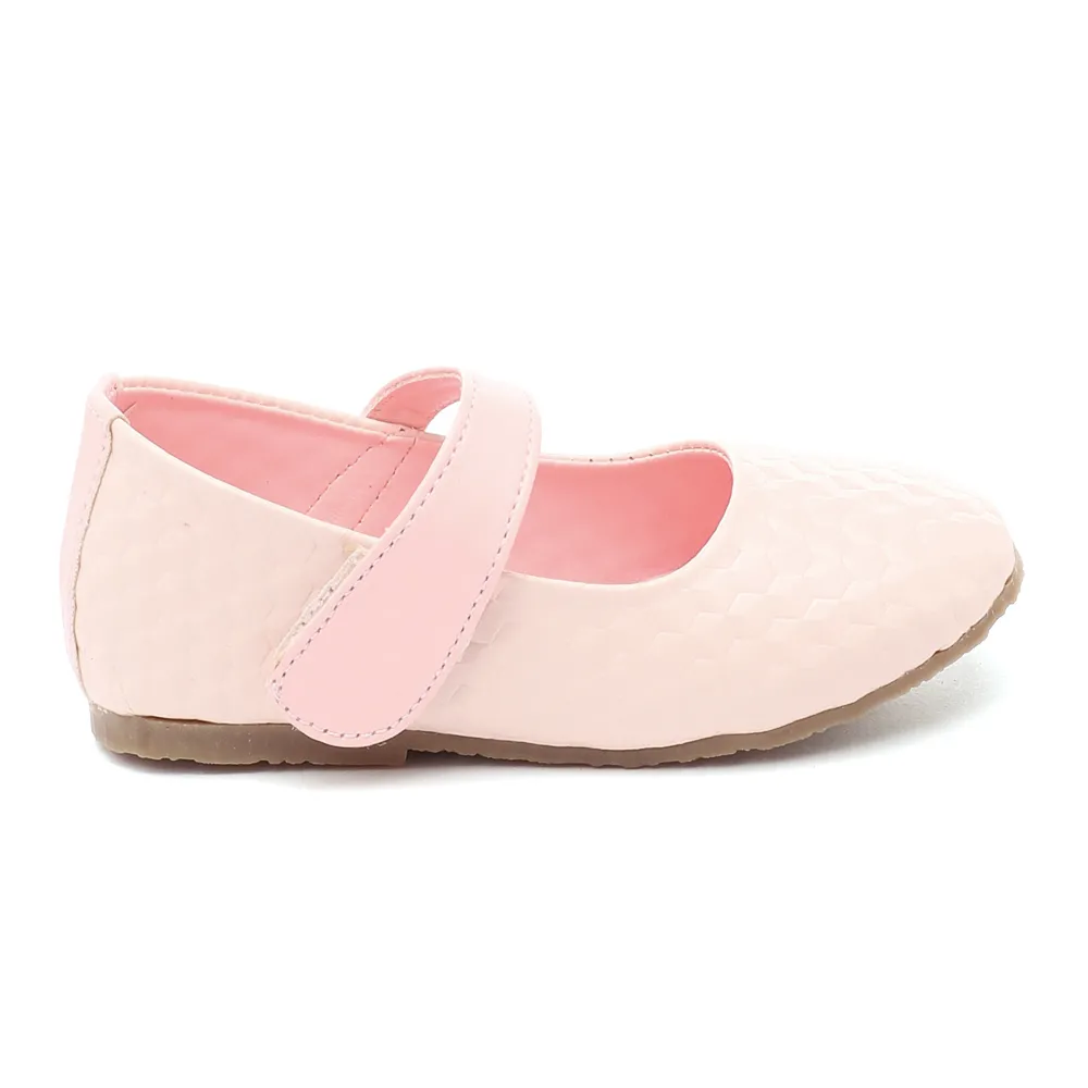 Toddler Girl 'Isabel' Beige Mary Jane Shoes