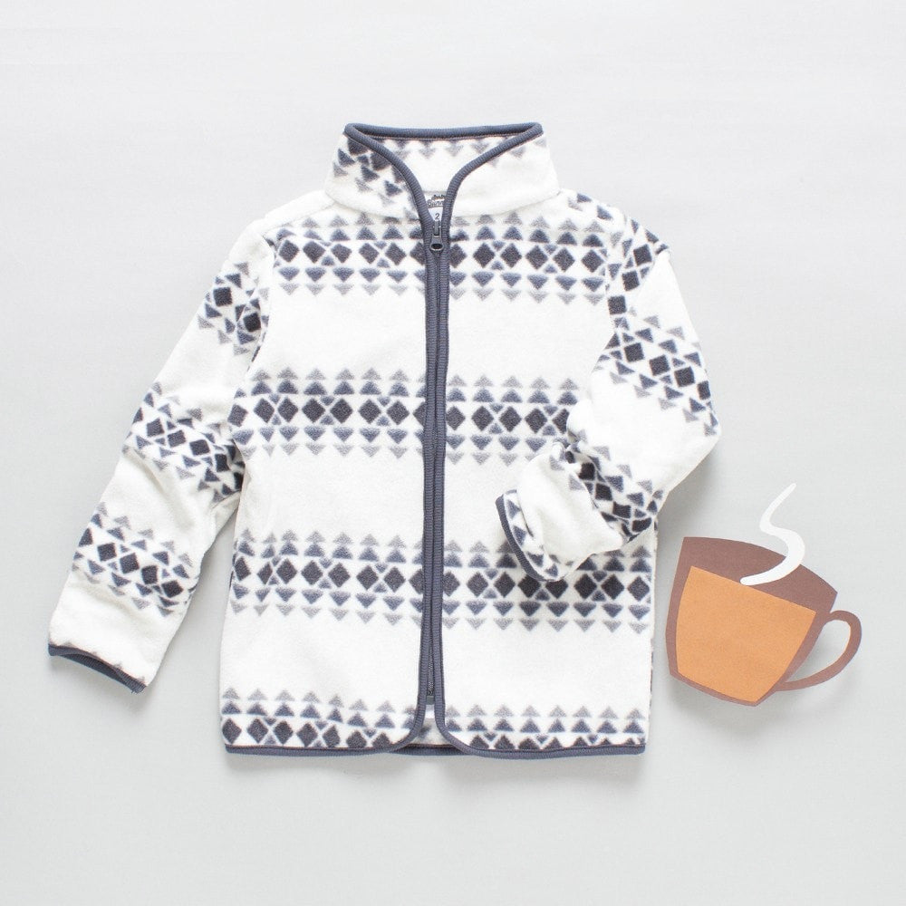 Toddler Boys 'Triangles' Jacket