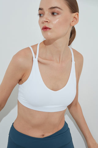 Alive Bra in White