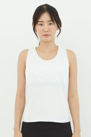 Breeze Tank in White