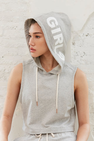 Girls Hoodie in Grey