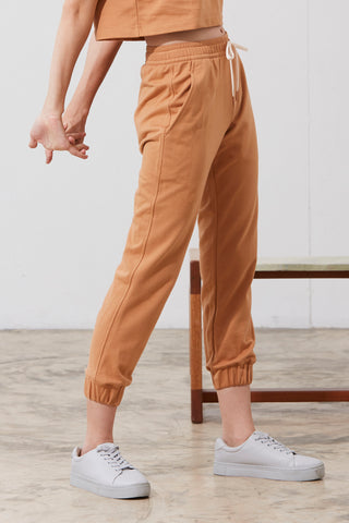 Karen Track Pants in Brown