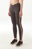 Karlie Mesh Legging in Steel Grey