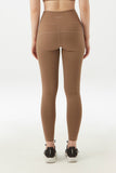 Karlie Mesh Legging in Tan