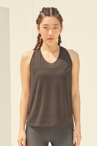 Nanna Twisted Tank in Black
