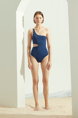 Lana One-Piece in Navy