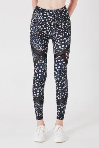 On Track Leggings in Daisy