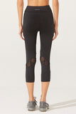 Reese Lacey Capri in Black