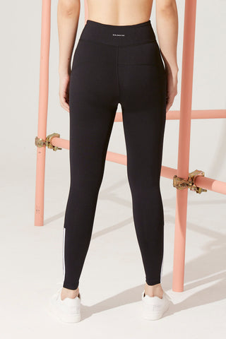 Sydney Stripe Legging in Black